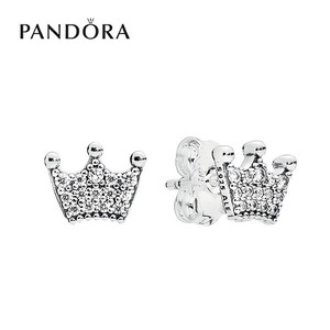[PANDORA] 판도라 귀걸이 Enchanted Crown Earrings 297127CZ